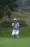 Friday 3rd August 2001..Sweden's Carin Koch, approaching the 11th Green.2001 Weetabix Women's Open, Sunningdale,..[Mandatory Credit Peter Spurrier/ Intersport Images]