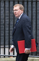 Downing Street, London, September 15th 2015.  David Mundell MP, Secretary of State for Scotland arrives at 10 Downing Street to attend the weekly cabinet meeting