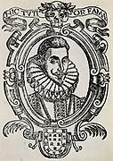 Lope Felix de Vega Carpio (1562-1635) Spanish dramatist. Woodcut.