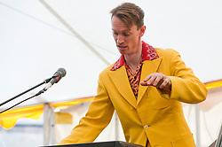 """Professor"" Vince Hurley on Keyboards..9 September 2012.Image © Paul David Drabble"