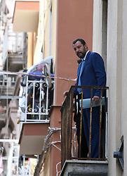 Napoli 2 ottobre 2018..Il MInistro degli interni Matteo Salvini nel quartiere vasto a Napoli accolto da cittadini ed extracomunitari..Ph: Stefano Renna (Credit Image: ©  via ZUMA Press)