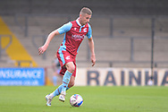 Ryan Colclough (7) of Scunthorpe United during the Pre-Season Friendly match between Scunthorpe United and Doncaster Rovers at Glanford Park, Scunthorpe, England on 15 August 2020.