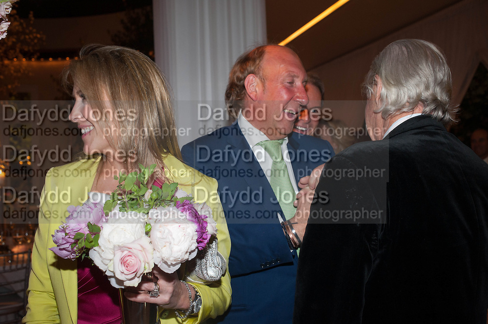 VISCOUNTESS DAVENTRY; VISCOUNT DAVENTRY, The Cartier Chelsea Flower show dinner. Hurlingham club, London. 20 May 2013.