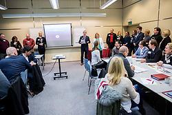 Poslovna skupina BNI Mostovi, srecanje dne 9. januarja 2019, Ljubljana, Slovenija. Foto: Vid Ponikvar / Sportida