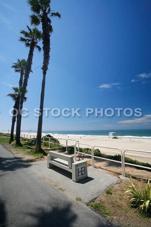 Huntington State Beach In Orange County California
