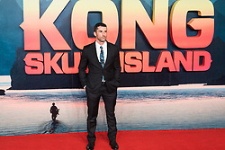 Leicester Square, London, February 28th 2017. Celebrities, VIPs and cast members of Kong: Skull Island, a Warner Brothers release, gather on the red carpet ahead of the film's European Premiere in London. The film stars Tom Hiddleston, Brie Larson, Samuel L Jackson, Tom C Reilly, Toby Kebbel and is directed by Jordan Vogt-Roberts. PICTURED: Producer Alex Garcia