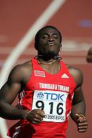 Friidrett, 6. august 2005, VM Helsinki, <br /> World Championship in Athletics<br /> Darrel Brown, 100 metres