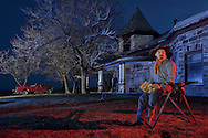 American Dreamscapes /   Kid Colt<br /> <br /> Hot Creek Ranch, Nevada, 2014