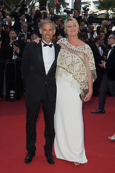 Paul Belmondo and Luana Tenca attending the Closing Ceremony during the 70th annual Cannes Film Festival held at the Palais Des Festivals in Cannes, France on May 28, 2017 as part of the 70th Cannes Film Festival. Photo by Nicolas Genin/ABACAPRESS.COM