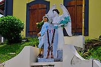 France, Martinique, le Lorrain, monument aux morts de la guerre 14-18 // France, West Indies, Martinique, Lorrain, monument to the dead of the 14-18 war