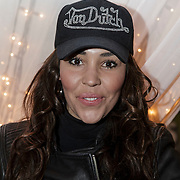 NLD/Hilversum/20141209 - Sky Radio Christmas Tree for Charity 2014, Hind Laroussi Tahari