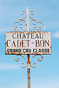 chateau cadet bon saint emilion bordeaux france