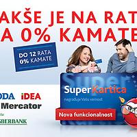 Reklamna kampanja za Super karticu Roda, Idea i Mercator<br /> Klijent: Sberbank<br /> Agencija : Communis<br /> Fotografija : Aleksandar Damnjanovic