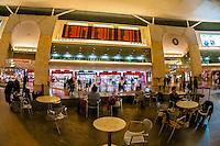 Duty Free Rotunda, Ben Gurion International Airport, Israel.