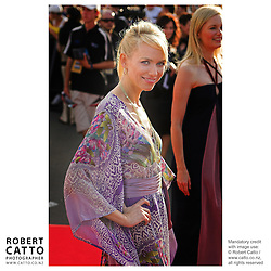 Naomi Watts walks the red carpet at the King Kong Premiere, at Wellington's Embassy Theatre.