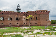 Fort Jefferson and Garden Key Lighthouse