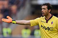 Antonio Mirante Bologna<br /> Milano 6-01-2016 Stadio Giuseppe Meazza - Football Calcio Serie A Milan - Bologna. Foto Giuseppe Celeste / Insidefoto