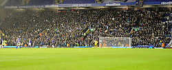 Bristol Rovers fans take over the away stand - Photo mandatory by-line: Joe Meredith/JMP - Tel: Mobile: 07966 386802 14/01/2014 - SPORT - FOOTBALL - St Andrew's Stadium - Birmingham - Birmingham City v Bristol Rovers - FA Cup - Third Round