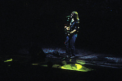 Bob Weir performing with the Grateful Dead in Concert at the Brendan Bryne Arena on April 1st 1988. View from front, stage left.