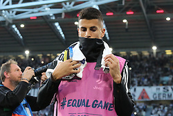 October 2, 2018 - Turin, Piedmont, Italy - Joo Cancelo (Juventus FC)  during the Juventus FC UEFA Champions League match between Juventus FC and Berner Sport Club Young Boys at Allianz Stadium on October 02, 2018 in Turin, Italy..Juventus won 3-0 over Young Boys. (Credit Image: © Massimiliano Ferraro/NurPhoto/ZUMA Press)