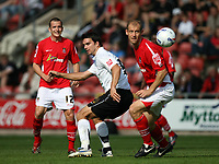 Photo: Rich Eaton.<br /> <br /> Wrexham v Hereford United. Coca Cola League 2. 24/09/2006. Tim Sills of Hereford watches the ball go past him