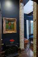 A beautiful boutique hotel in a renovated robber baron mansion, photographed by BR Lillie Photography