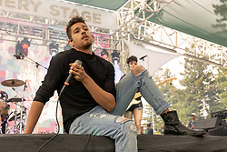 May 25, 2018 - Napa, California, U.S - NOMBE (NOAH MCBETH) during BottleRock Music Festival at Napa Valley Expo in Napa, California (Credit Image: © Daniel DeSlover via ZUMA Wire)