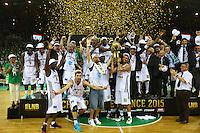 Joie Limoges - 20.06.2015 - Limoges / Strasbourg - Finale Pro A<br /> Photo : Manuel Blondeau / Icon Sport