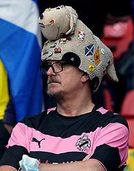 Scotland fans ahead of the UEFA Euro 2020 Group D match at Hampden Park, Glasgow. Picture date: Monday June 14, 2021.