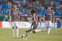 20120207: RIO DE JANEIRO, BRAZIL - Player Deco (FLU) at football match between Fluminense (BRA) vs  Arsenal de Sarandi (ARG) for Copa Libertadores, held at Engenhao stadium in RJ<br /> PHOTO: CITYFILES