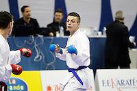Lou LEBRUN - 24.01.2015 - Open de Paris - Karate Premier League -<br />Photo : Johnny Fidelin / Icon Sport