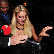 U.S. heiress, actress and singer Paris HILTON for an event coming to our country for the seventh time, the previous night gave his name to the party joined the Istanbul Culture and Art Foundation. The Hilton's guest of honor at the party's own heart could not guard the night and had fun. Attention! ONLY! Sweden, Norway, Denmark, Baltic countries. Photo by TURKPIX