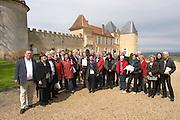visiting group chateau d'yquem sauternes bordeaux france