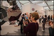 Frieze art Fair. Regent's Park, London, 19 October 2014