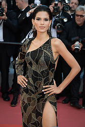 Raica Oliveira attending the premiere of the film Les Filles du Soleil during the 71st Cannes Film Festival in Cannes, France on May 12, 2018. Photo by Julien Zannoni/APS-Medias/ABACAPRESS.COM