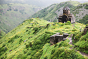 Vahramashen Church (also commonly referred to as Surb Astvatsatsin or the Church of Amberd), Aragatsotn Province, Armenia