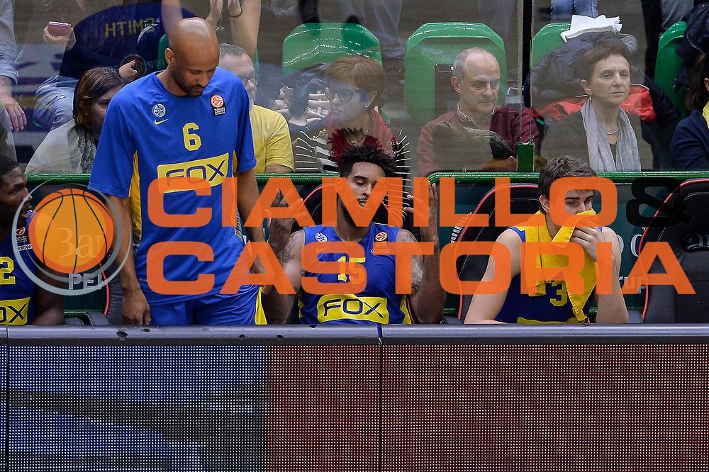 DESCRIZIONE : Eurolega Euroleague 2015/16 Group D Dinamo Banco di Sardegna Sassari - Maccabi Fox Tel Aviv<br /> GIOCATORE : Sylven Landesberg<br /> CATEGORIA : Ritratto Delusione Panchina<br /> SQUADRA : Maccabi Fox Tel Aviv<br /> EVENTO : Eurolega Euroleague 2015/2016<br /> GARA : Dinamo Banco di Sardegna Sassari - Maccabi Fox Tel Aviv<br /> DATA : 03/12/2015<br /> SPORT : Pallacanestro <br /> AUTORE : Agenzia Ciamillo-Castoria/L.Canu