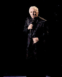 Charles Aznavour performs his '2006 Farewell Tour' at Radio City Music Hall in New York City, NY, USA on September 18, 2006. Photo by David Miller/ABACAPRESS.COM