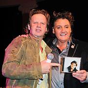 NLD/Amsterdam/20111110 - CD presentatie Rene Froger, Rene en Peter Paul Muller als Martin Morero