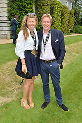 AMBER NUTTALL and ALISTAIR GOSLING at the Cartier hosted Style et Lux at The Goodwood Festival of Speed at Goodwood House, West Sussex on 26th June 2016.