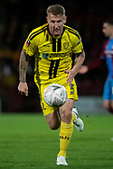 Burton Albion defender Kyle McFadzean during the The FA Cup 1st round match between Scunthorpe United and Burton Albion at Glanford Park, Scunthorpe, England on 10 November 2018.