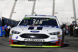 September 23, 2017 - Loudon, New Hampshire, United States of America - September 23, 2017 - Loudon, New Hampshire, USA: Kevin Harvick (4) takes to the track to practice for the ISM Connect 300 at New Hampshire Motor Speedway in Loudon, New Hampshire. (Credit Image: © Justin R. Noe Asp Inc/ASP via ZUMA Wire)