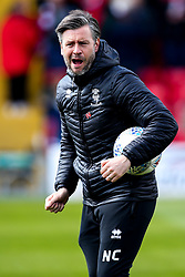 Lincoln City assistant manager Nicky Cowley - Mandatory by-line: Robbie Stephenson/JMP - 13/04/2019 - FOOTBALL - Sincil Bank Stadium - Lincoln, England - Lincoln City v Cheltenham Town - Sky Bet League Two