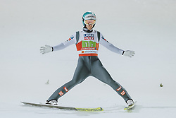 28.02.2021, Oberstdorf, GER, FIS Weltmeisterschaften Ski Nordisch, Oberstdorf 2021, Mixed Teambewerb, Skisprung HS106, im Bild Michael Hayboeck (AUT) // Michael Hayboeck of Austria during the ski jumping HS106 mixed team competition of FIS Nordic Ski World Championships 2021 in Oberstdorf, Germany on 2021/02/28. EXPA Pictures © 2021, PhotoCredit: EXPA/ JFK