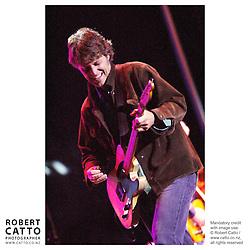 Blue Rodeo singer Jim Cuddy performs at the Sudbury Blues Festival, Ontario Canada.