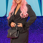 Amelia Lily attended 'Everybody's Talking About Jamie' film premiere at Royal Festival Hall, London, UK. 13 September 2021