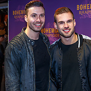 NLD/Amsterdam/20181030 - Premiere Bohemian Rapsody, Rutger Vink en partner Thomas van Grinsven