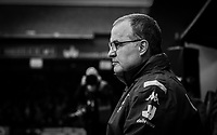 Leeds United manager Marcelo Bielsa<br /> <br /> Photographer Alex Dodd/CameraSport<br /> <br /> The EFL Sky Bet Championship - 191123 Luton Town v Leeds United - Saturday 23rd November 2019 - Kenilworth Road - Luton<br /> <br /> World Copyright © 2019 CameraSport. All rights reserved. 43 Linden Ave. Countesthorpe. Leicester. England. LE8 5PG - Tel: +44 (0) 116 277 4147 - admin@camerasport.com - www.camerasport.com