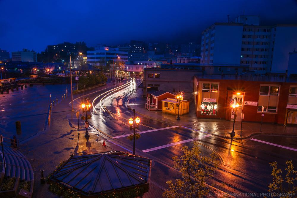 Marine Park & Marine Way, Downtown Juneau