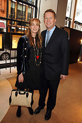 ORLANDO FRASER and his wife CLEMENTINE at a party to celebrate the publication of 'Young Stalin' by Simon Sebag-Montefiore at Asprey, New Bond Street, London on 14th May 2007.<br /><br />NON EXCLUSIVE - WORLD RIGHTS